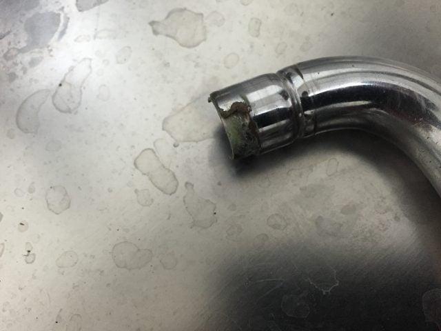 水栓ノズルの水漏れ