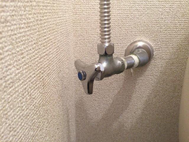 ハンドル式止水栓