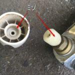 水栓の水漏れを修理したいのにハンドルが固くて外せない