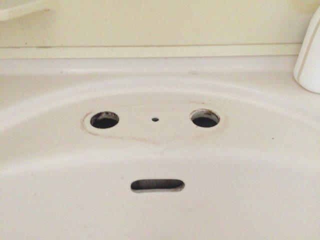 洗面台水栓の交換と道具
