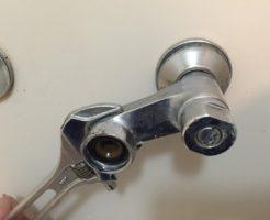 混合水栓の交換