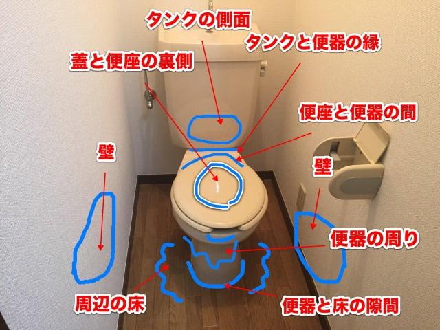 トイレ臭いの原因