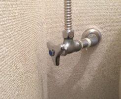 止水栓のハンドル交換
