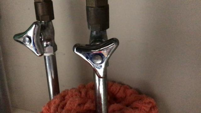 シングルレバー混合水栓交換