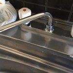 混合水栓交換