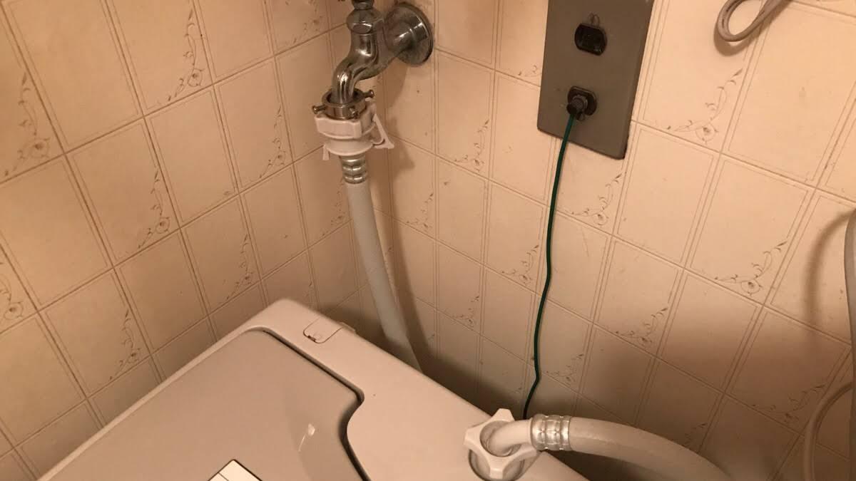 洗濯機まわりの水漏れ原因