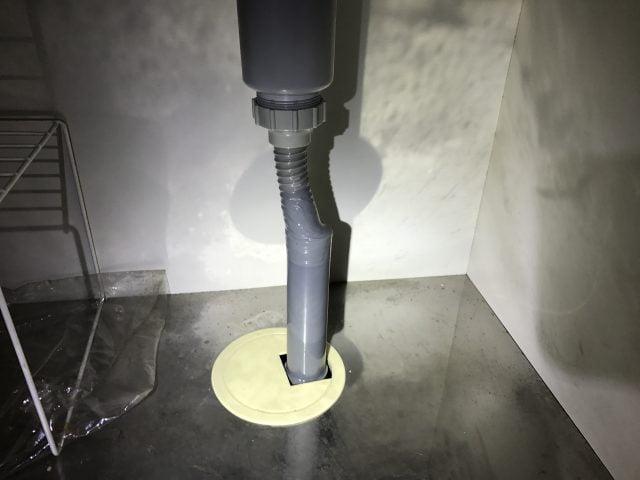 ケルヒャー高圧洗浄機で排水管のつまりを直す