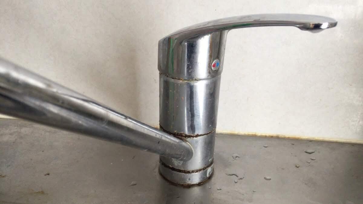 シングルレバー混合水栓ワンホール