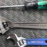 水まわり修理の道具