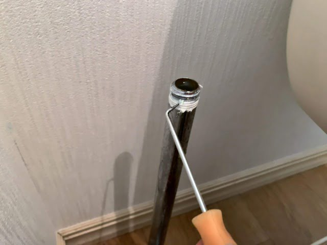 止水栓交換