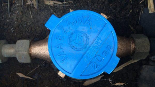 水道メーターの場所